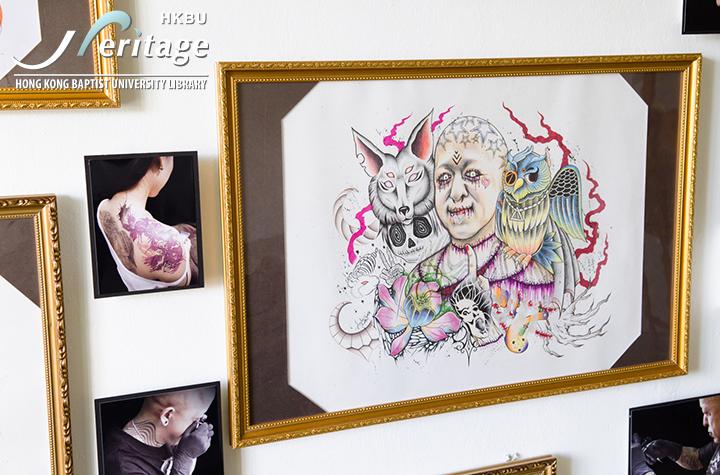 HKBU Heritage : 雕刻者