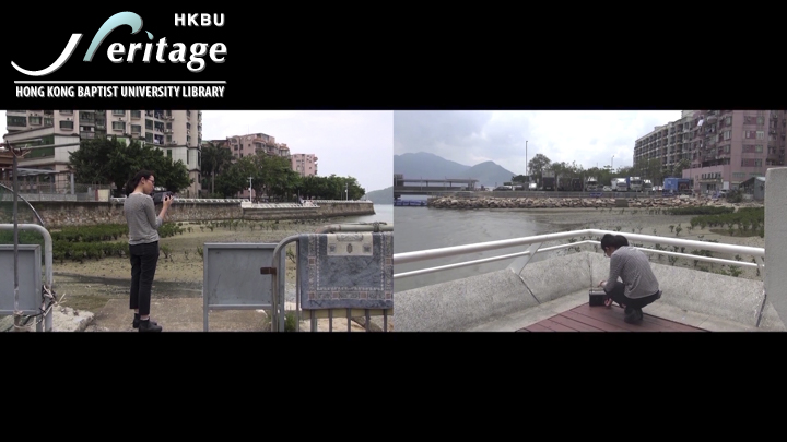 HKBU Heritage : There is __mm between Chung and Ying